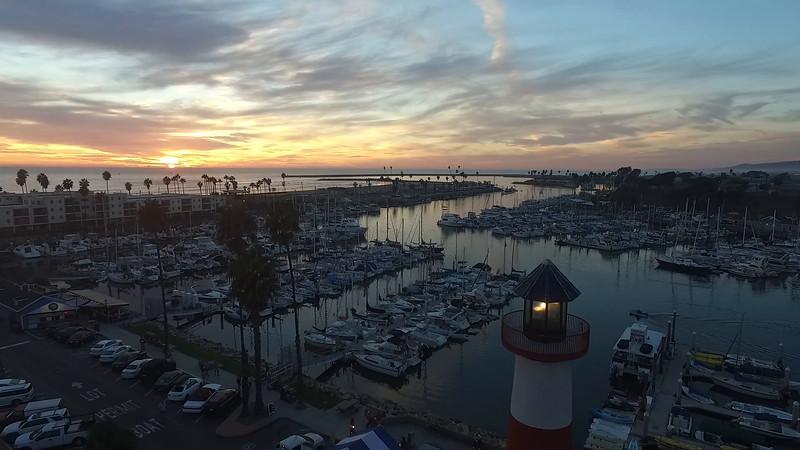 Lighthouse video Oceanside Harbor