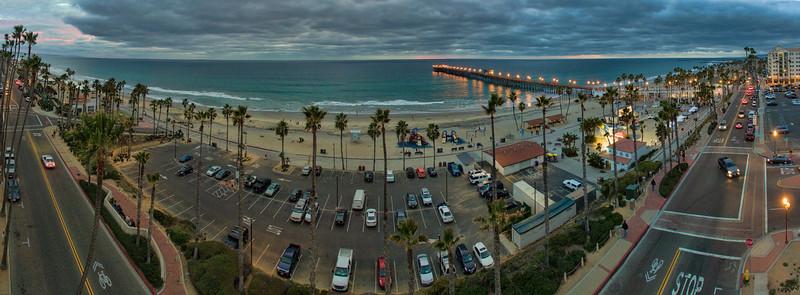 Oceanside Pier Panoramic #98