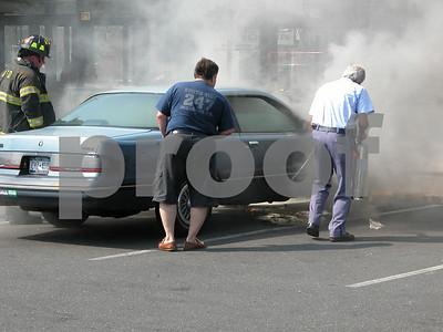 Car Fire at Nathan's