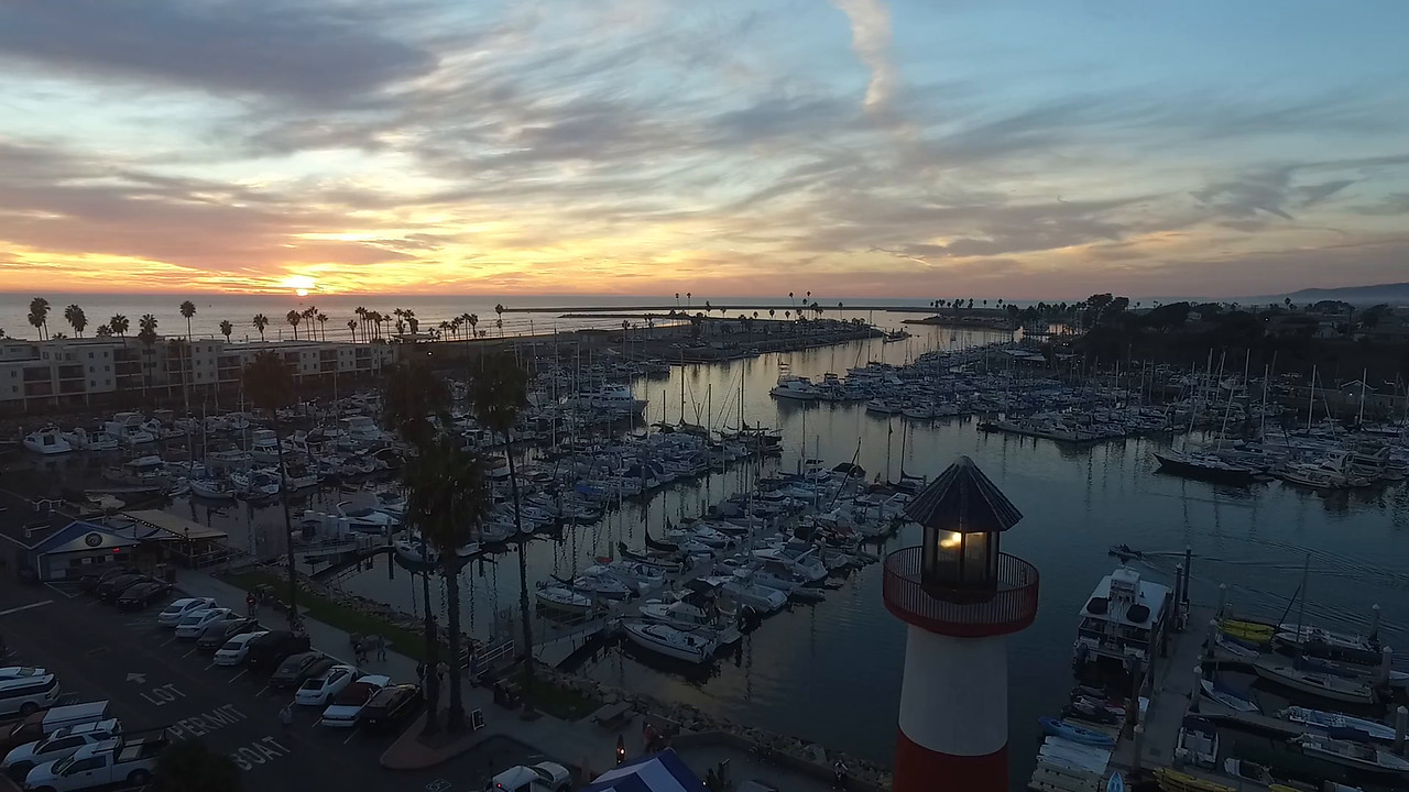 Lighthouse video Oceanside Harbor