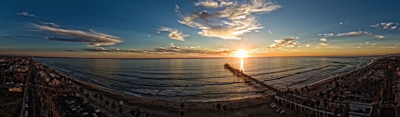 The Oceanside Pier Panoramic #36