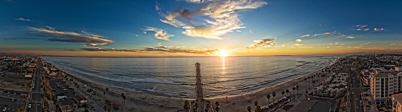 Oceanside Pier Pano #37