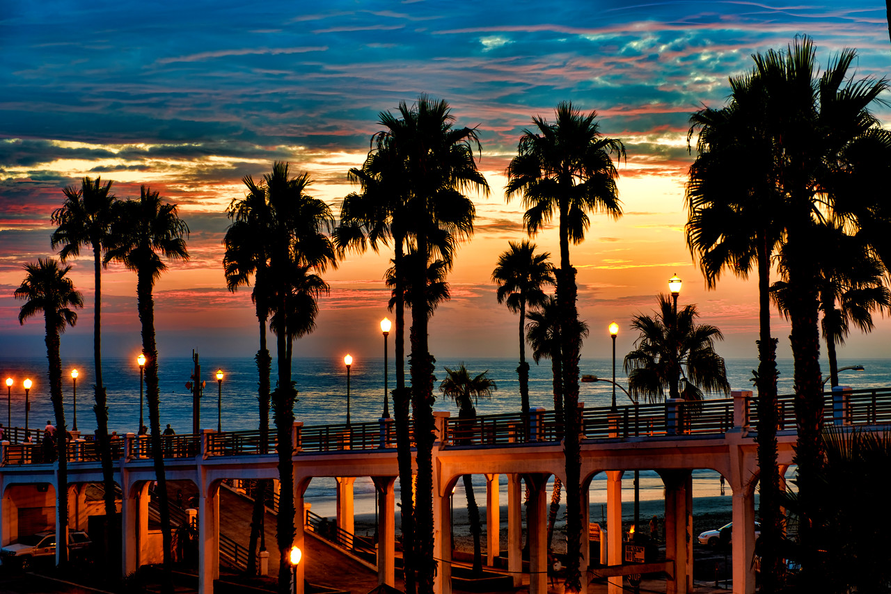 The pier in Oceanside #88