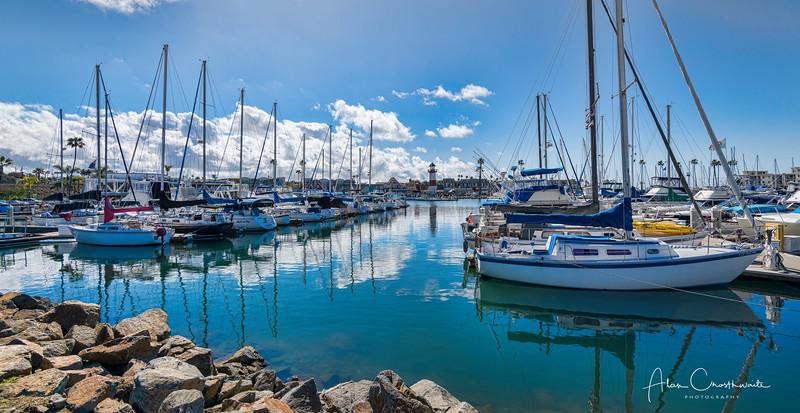 Sparkling Oceanside Harbor