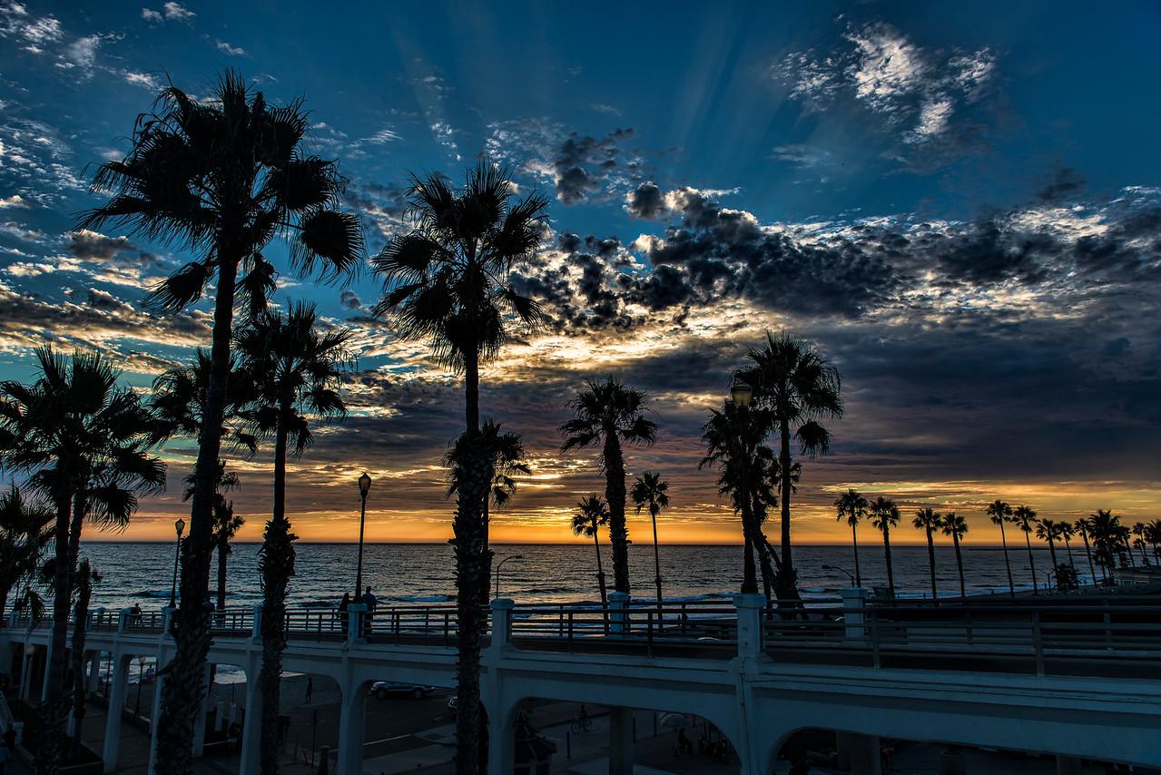 Dramatic pier skies #24