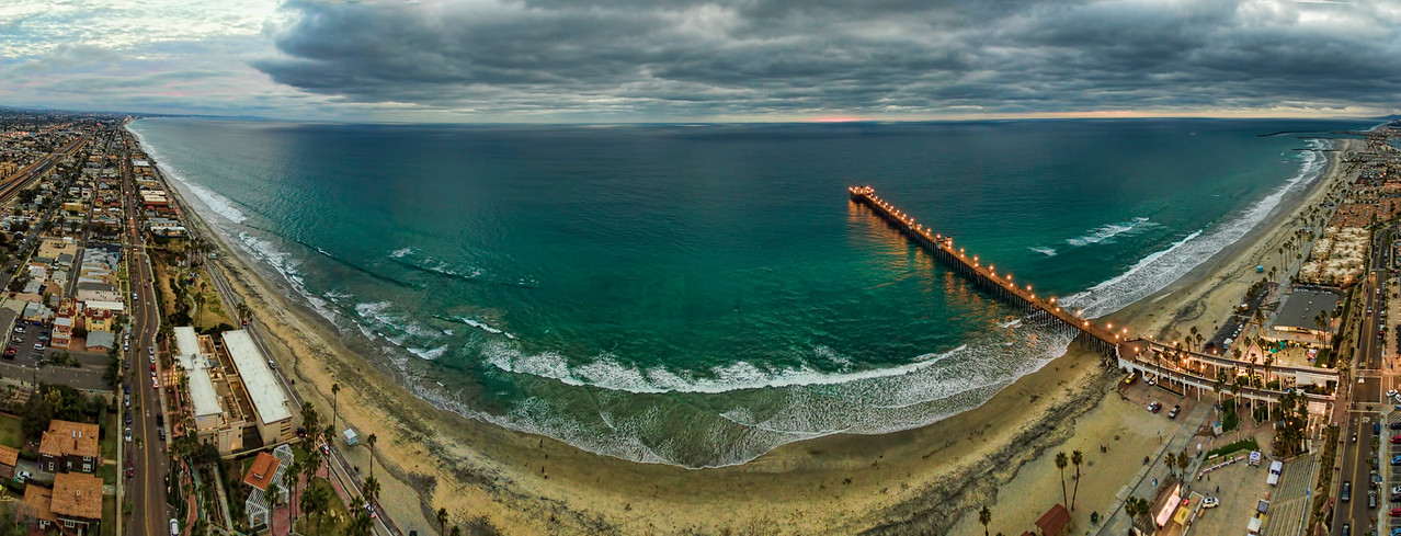 Oceanside Pier Panoramic #97