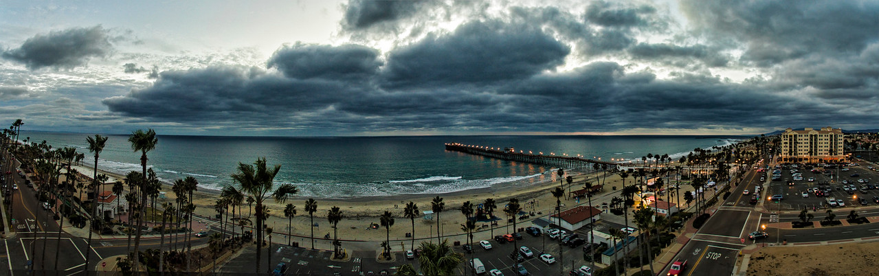 Oceanside Pier Panoramic #99