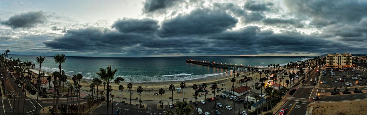 Oceanside Pier Panoramic #99