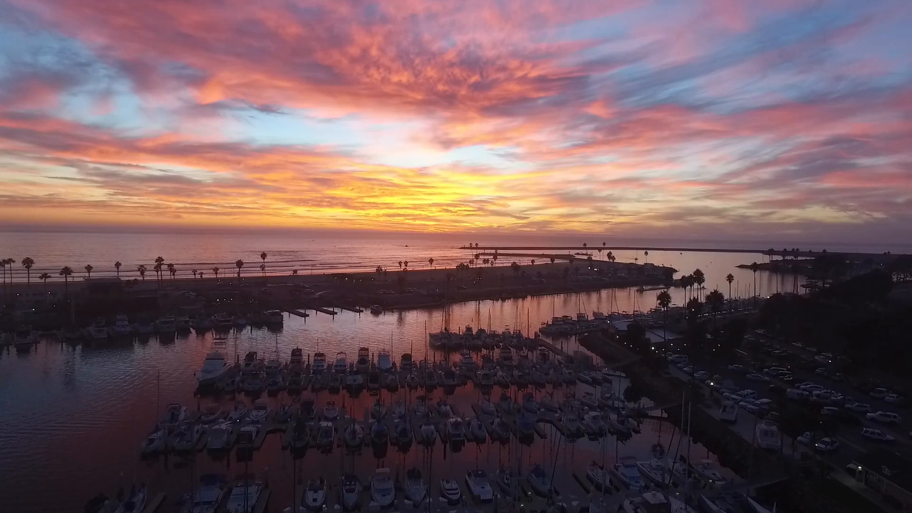 Oceanside Harbor Sunset