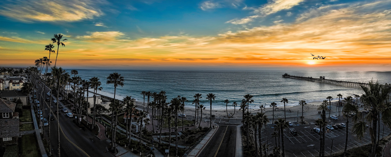 Sunset Fantasy in Oceanside