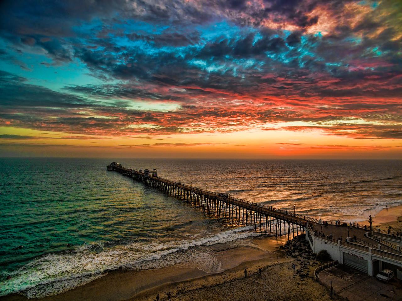 Aerial pier #100