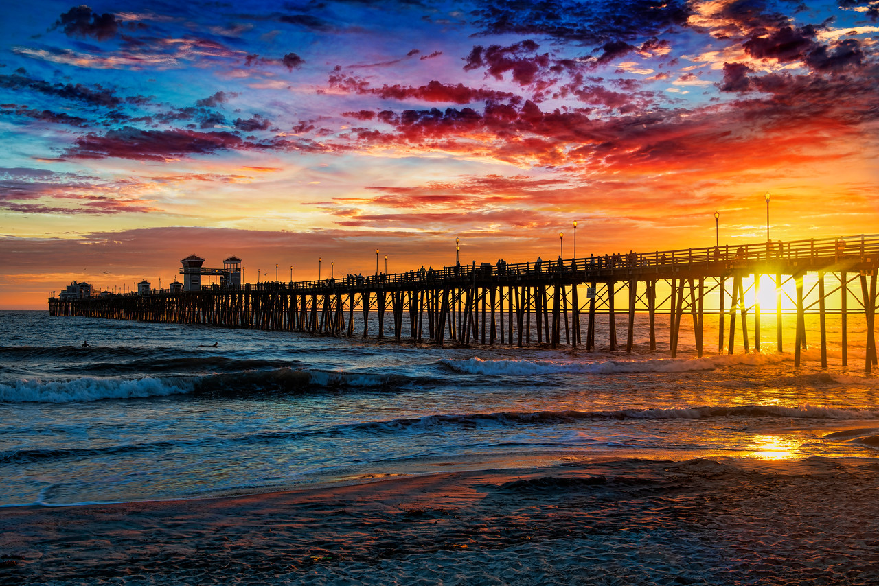 Colors of the pier #11