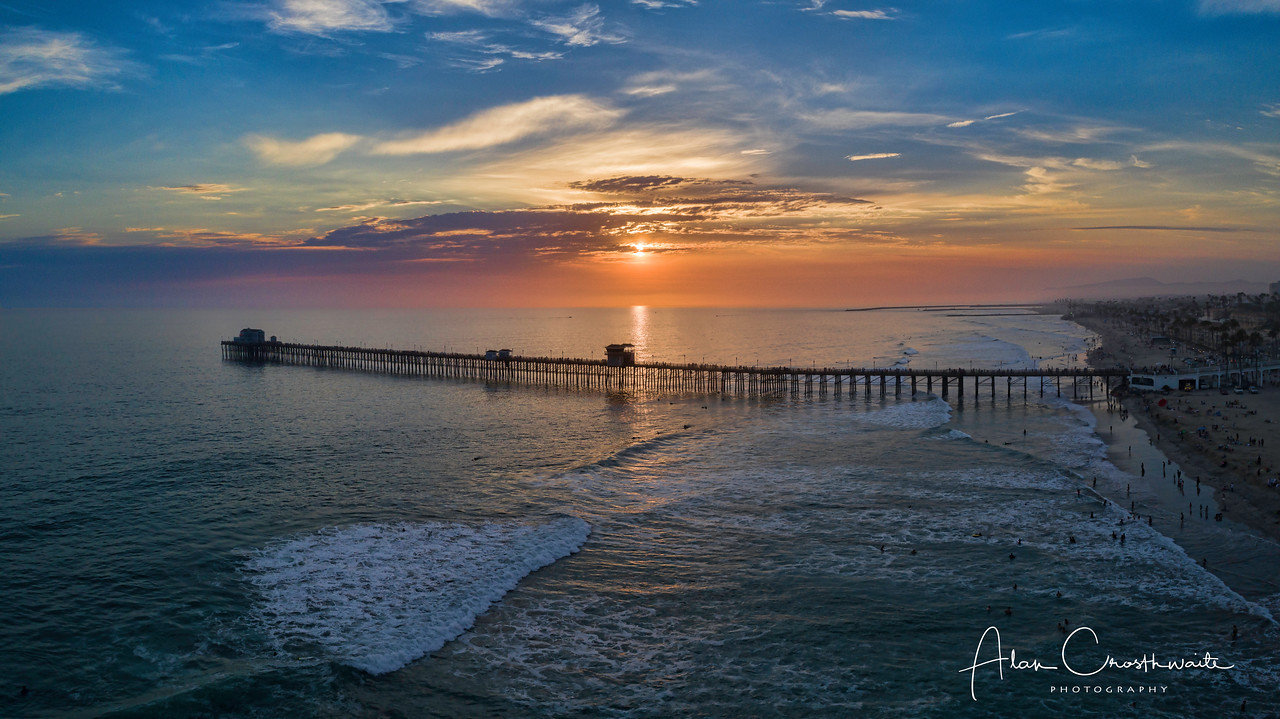 Colorful Pier Pano