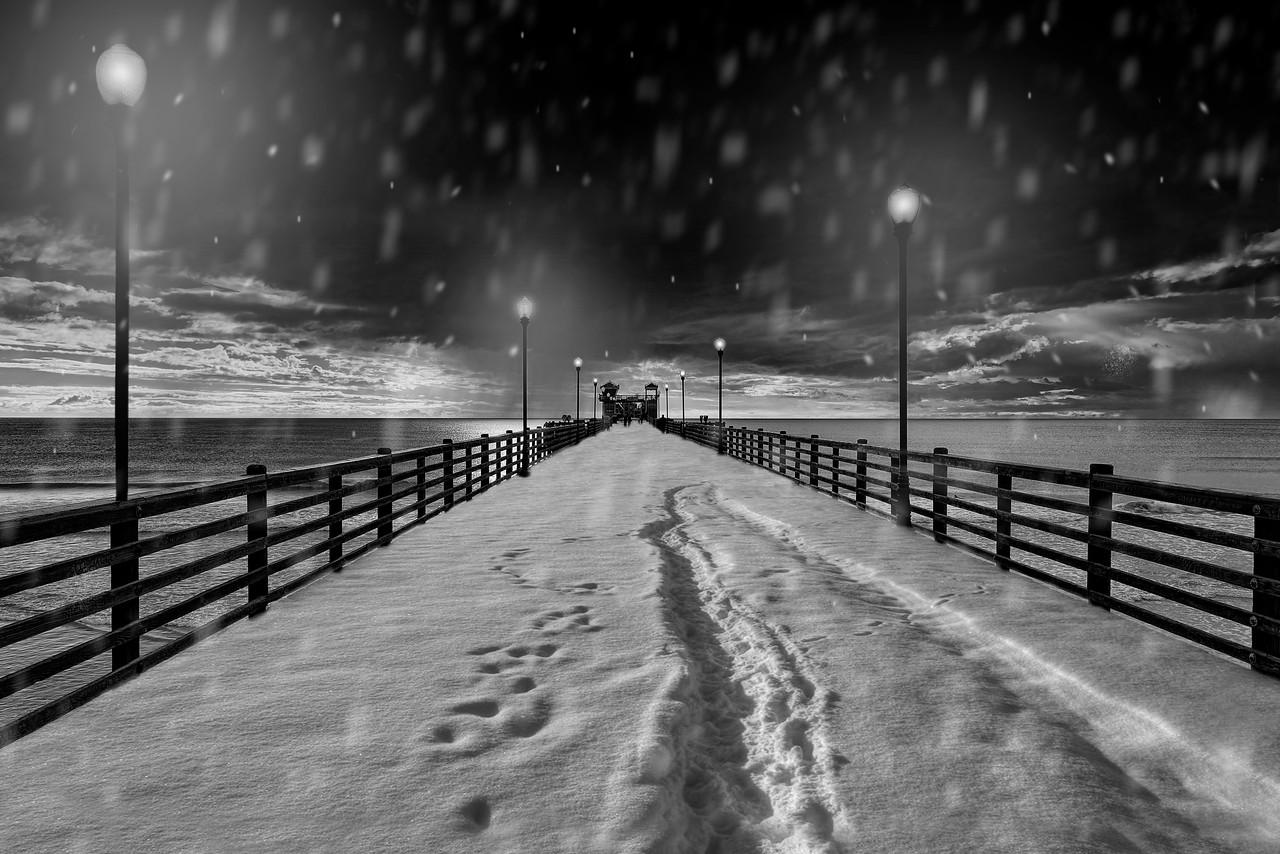 Snowy Pier #20