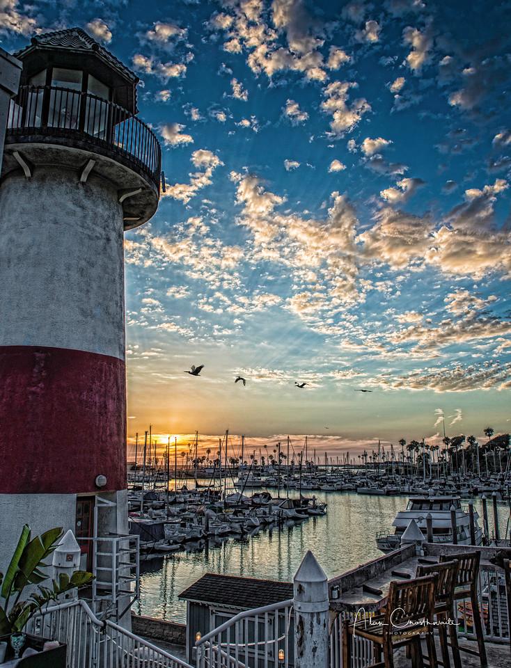 The lighthouse in Oceanside