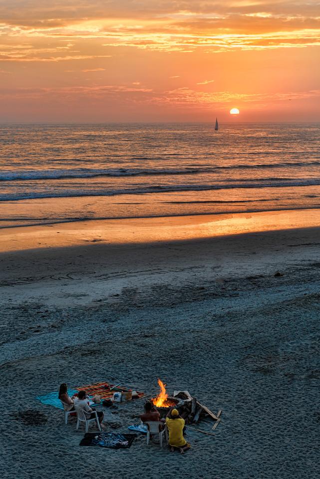 Bonfire at the beach #80