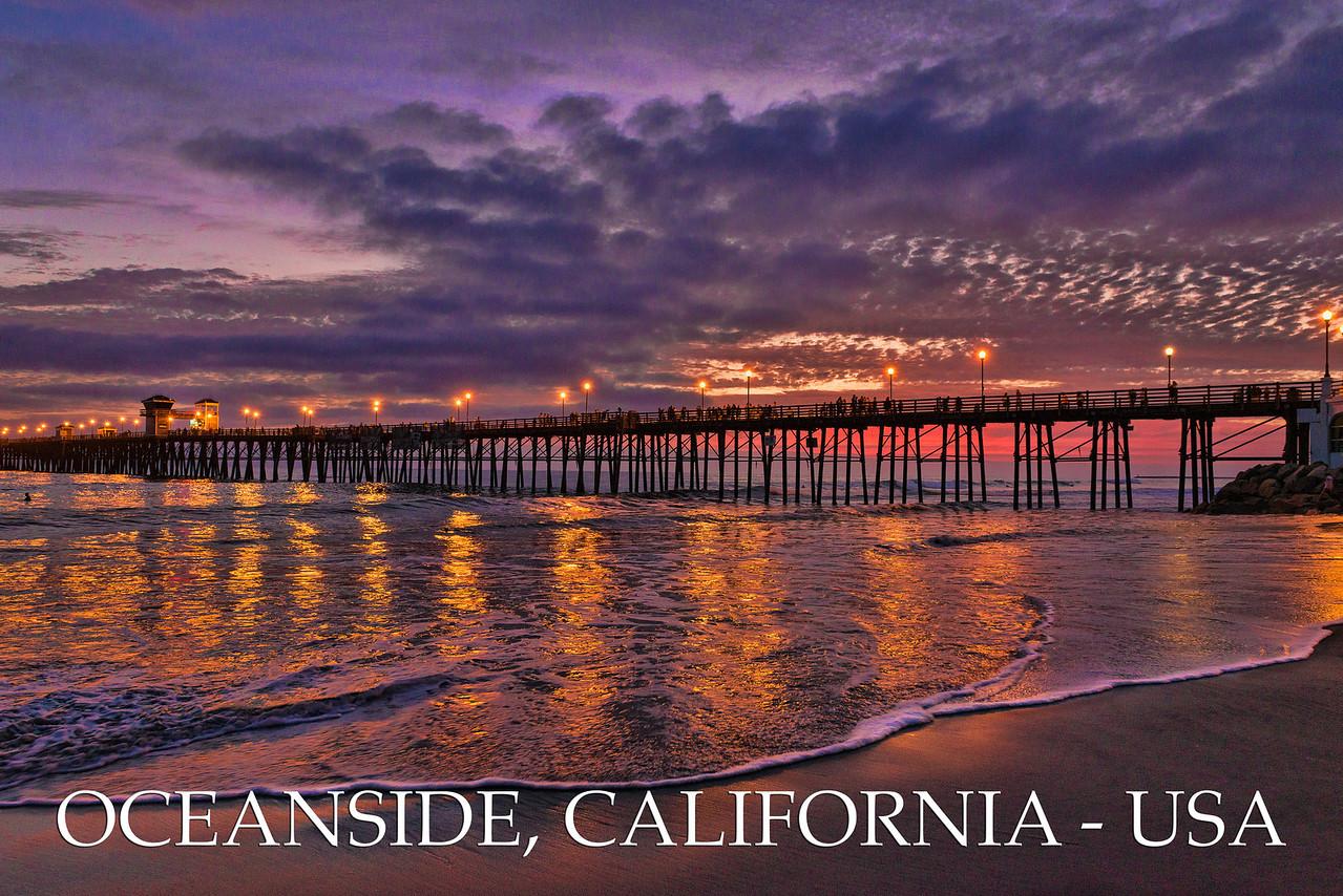 Oceanside Pier Poster #50