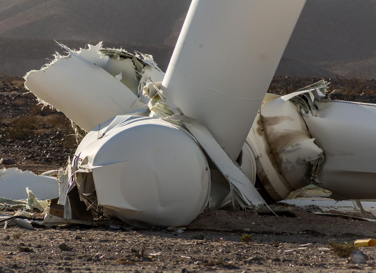 Siemens 2.37MW-108 SWT Wind Turbine Collapse in Ocotillo, California