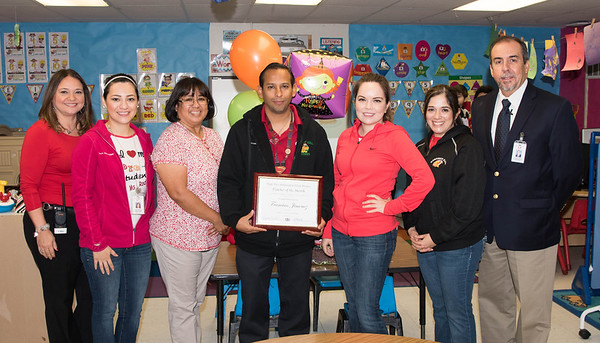 Oct. 10, 2017 Teacher of the month