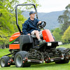 "Daniel Dexter at work preparing the Royal Wellington Golf Club to host the Asia-Pacific Amateur Championship tournament 2017 held in Heretaunga, Upper Hutt, New Zealand from 26 - 29 October 2017. Copyright John Mathews 2017.    <a href=""http://www.megasportmedia.co.nz"">http://www.megasportmedia.co.nz</a>"