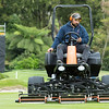 "Perry Hayman at work preparing the Royal Wellington Golf Club  to host the Asia-Pacific Amateur Championship tournament 2017 held in Heretaunga, Upper Hutt, New Zealand from 26 - 29 October 2017. Copyright John Mathews 2017.    <a href=""http://www.megasportmedia.co.nz"">http://www.megasportmedia.co.nz</a>"