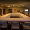 """Early morning view of the upstairs meeting room of the clubhouse  on 26 October 2017 before  the 1st day of competition in the Asia-Pacific Amateur Championship tournament 2017 held at Royal Wellington Golf Club, in Heretaunga, Upper Hutt, New Zealand from 26 - 29 October 2017. Copyright John Mathews 2017.    <a href=""""http://www.megasportmedia.co.nz"""">http://www.megasportmedia.co.nz</a>"""