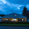 """Early morning view of  the Media marquee on 26 October 2017 before  the 1st day of competition in the Asia-Pacific Amateur Championship tournament 2017 held at Royal Wellington Golf Club, in Heretaunga, Upper Hutt, New Zealand from 26 - 29 October 2017. Copyright John Mathews 2017.    <a href=""""http://www.megasportmedia.co.nz"""">http://www.megasportmedia.co.nz</a>"""