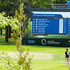 """Scoreboard at midday on Day 1 of the Asia-Pacific Amateur Championship tournament 2017 held at Royal Wellington Golf Club, in Heretaunga, Upper Hutt, New Zealand from 26 - 29 October 2017. Copyright John Mathews 2017.    <a href=""""http://www.megasportmedia.co.nz"""">http://www.megasportmedia.co.nz</a>"""
