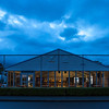 """Early morning view of the Refeshments marquee on 26 October 2017 before  the 1st day of competition in the Asia-Pacific Amateur Championship tournament 2017 held at Royal Wellington Golf Club, in Heretaunga, Upper Hutt, New Zealand from 26 - 29 October 2017. Copyright John Mathews 2017.    <a href=""""http://www.megasportmedia.co.nz"""">http://www.megasportmedia.co.nz</a>"""