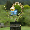 """The Asia-Pacific Trophy  on display on the 1st day of competition in the Asia-Pacific Amateur Championship tournament 2017 held at Royal Wellington Golf Club, in Heretaunga, Upper Hutt, New Zealand from 26 - 29 October 2017. Copyright John Mathews 2017.    <a href=""""http://www.megasportmedia.co.nz"""">http://www.megasportmedia.co.nz</a>"""