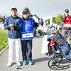 "Nathan Zhao from Guam with his caddy after hitting off the 1st tee on Day 1 of competition in the Asia-Pacific Amateur Championship tournament 2017 held at Royal Wellington Golf Club, in Heretaunga, Upper Hutt, New Zealand from 26 - 29 October 2017. Copyright John Mathews 2017.    <a href=""http://www.megasportmedia.co.nz"">http://www.megasportmedia.co.nz</a>"