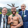 "Powhiri and Official welcome to players, guests and spectators of the Asia-Pacific Amateur Championship tournament 2017 held at Royal Wellington Golf Club, in Heretaunga, Upper Hutt, New Zealand on 25 October 2017. Copyright John Mathews 2017  <a href=""http://www.john.mathews.co.nz"">http://www.john.mathews.co.nz</a>"