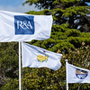 "Flags of the R&A and the Masters flying at the Royal Wellington Golf Club immediately prior to the hosting of the Asia-Pacific Amateur Championship tournament 2017 held in Heretaunga, Upper Hutt, New Zealand from 26 - 29 October 2017. Copyright John Mathews 2017.    <a href=""http://www.megasportmedia.co.nz"">http://www.megasportmedia.co.nz</a>"