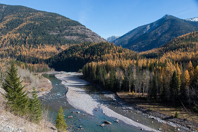 The Middle Fork of the Flathead River below Essex