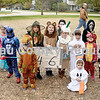 Here are some of the costumed kids in the ages 4-6 category at Saturday's costume contest in Princeton.