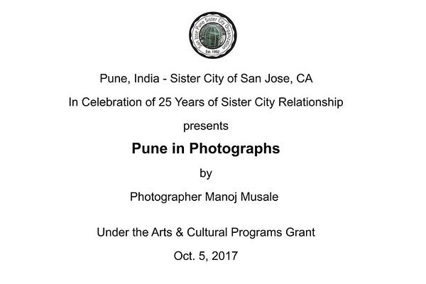 Oct. 5-2017 - Pune - Sister City of San Jose