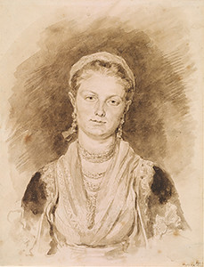 Jean-Honoré Fragonard, Portrait of a Neapolitan Girl, 2001.60