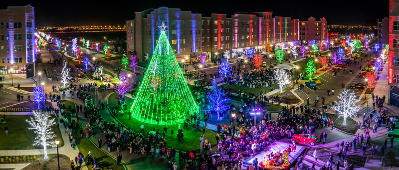 Amarillo Town Square Christmas
