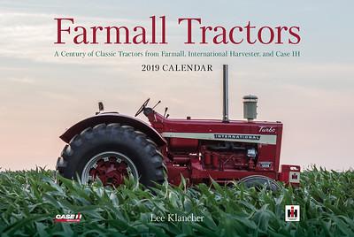 Farmall Tractors Calendar 2019