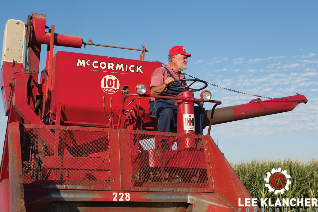 Owner Howard Ulrich on McCormick 101 Combine