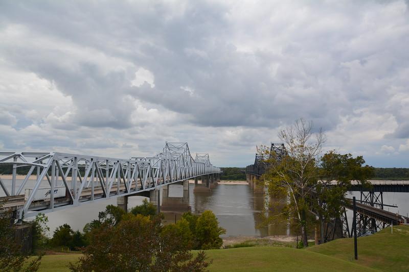 Mississippi River at Jackson MS.