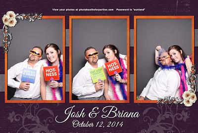 Josh and Briana