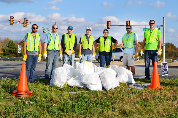 October 2014: Fall Adopt-a-Highway Clean-up Event