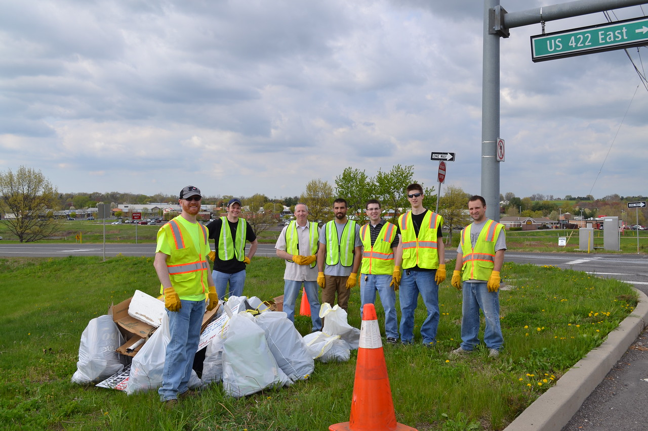 May 2015: Spring Adopt-a-Highway Clean-up Event