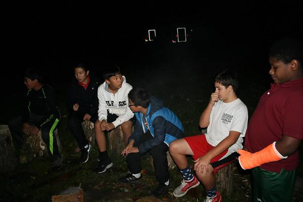 Sixth-Grade C.O.R.E. House Camping Trip