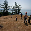 SJPT staff members (with family members) visit the Tip Top Preserve. Photo Jane K. Fox.