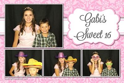 Gabi's Sweet 16