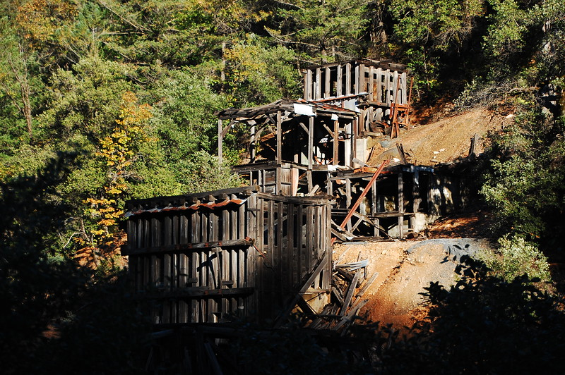 Old mine along CA 299 near Redding