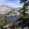 breeze lake from the ridge