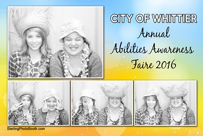 City Of Whittier Abilities Awareness Faire
